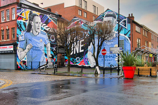 Win as One - Football Mural