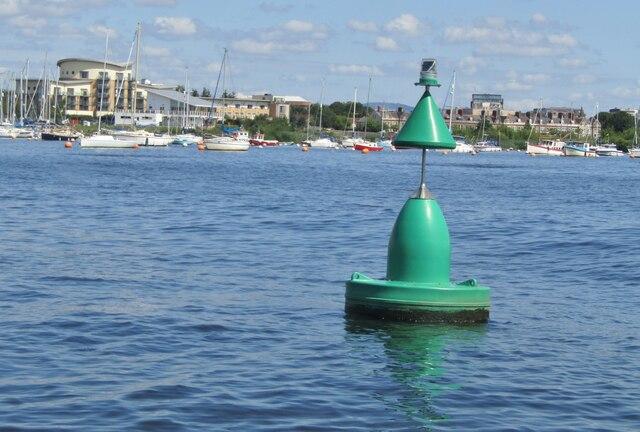 Cardiff Bay - Navigation Buoy