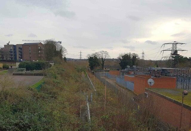 Croxley Rail Link (15): Former Watford Stadium Halt