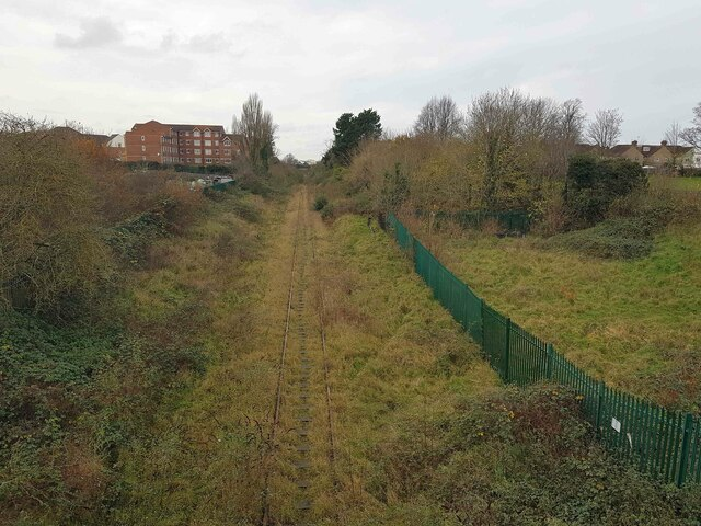 Croxley Rail Link (16): Site of the proposed Watford Vicarage Road Station