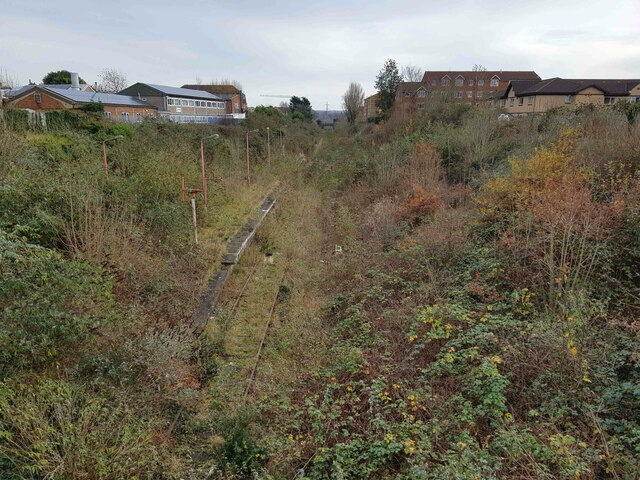 Croxley Rail Link (17): Site of the former Watford West Station