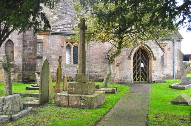 Churchyard Cross, All Saints Church, Littleton Drew, Wiltshire 2020