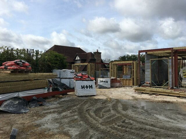New builds on Pardown by Sandy B