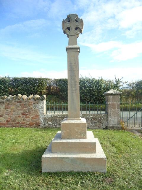 Eckford War Memorial