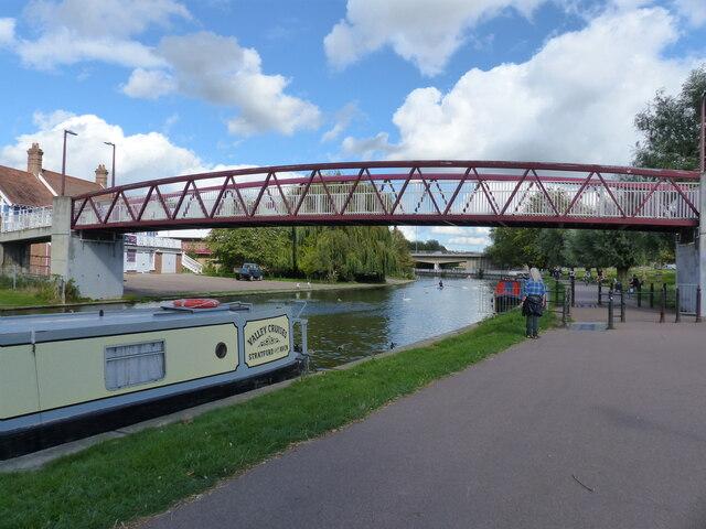 Footbridge over the River Cam, Cambridge