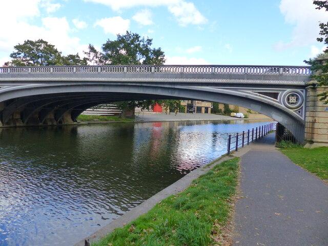 Victoria Bridge over the River Cam, Cambridge