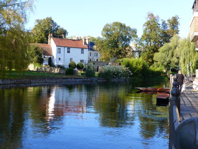 View across the River Cam, Cambridge