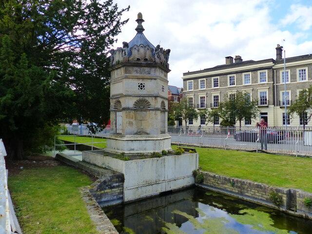 Hobson's Conduit monument, Cambridge