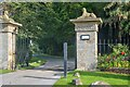 NZ0714 : Rokeby : Garden House Entrance by Lewis Clarke