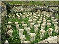 SP0513 : Chedworth - Roman Villa - Hypocaust by Colin Smith