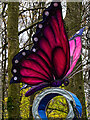 SD8203 : Giant Butterfly at Heaton Park by David Dixon
