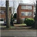 SP2865 : Rear access to lock-up garages, Lakin Road, Warwick by Robin Stott