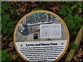 TG3127 : Information plaque by David Pashley
