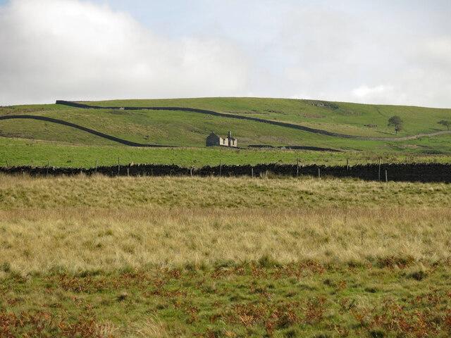 Rough pastures around Pit House