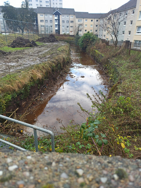 Water channel at Dempster Street