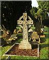 SX9065 : Celtic cross, Torquay cemetery by Derek Harper