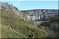 SD8964 : Malham Cove from the Pennine Way by Chris Heaton
