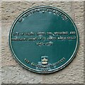 SO7745 : Green plaque on the Council House by Philip Halling