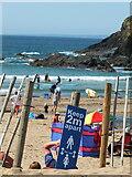 SW6619 : Poldhu Cove, Cornwall during the Coronavirus pandemic by Gary Rogers