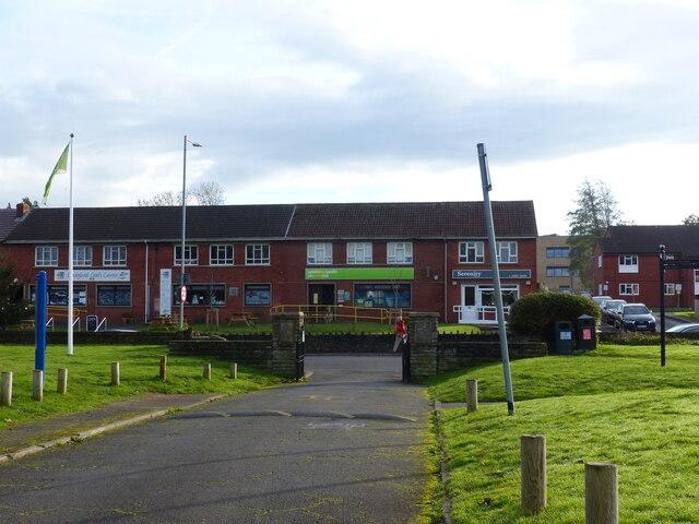 Entrance to recreation ground, Caldicot