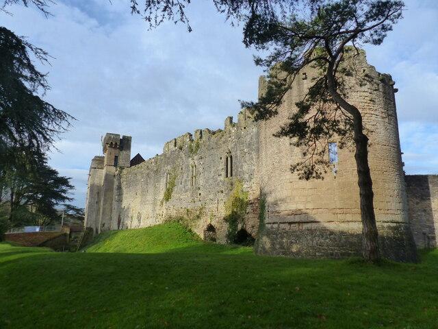 Exterior of Caldicot Castle, Caldicot Country Park