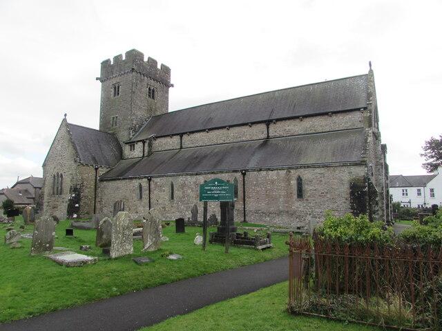 Grade I Listed church in Coychurch