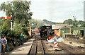 SJ1006 : 'The Countess' at Llanfair Caereinion, Welshpool and Llanfair Light Railway by Martin Tester