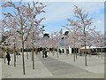 TQ0658 : Wisley - New Entrance 2020 by Colin Smith