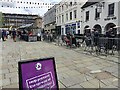 SP2864 : Market Place on a Saturday during the pandemic, Warwick by Robin Stott