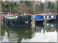 SO8553 : Dutch barge in Diglis Basin by Philip Halling