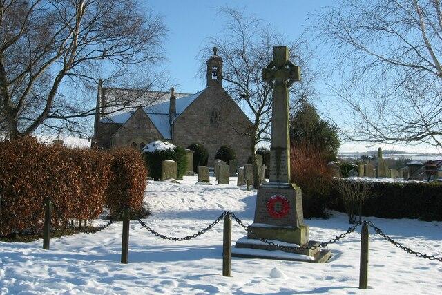 Roxburgh War Memorial.