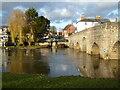 SP0951 : The River Avon at Bidford-on-Avon by Chris Allen