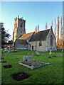 SP0849 : Church of St Andrew, Cleeve Prior by Chris Allen