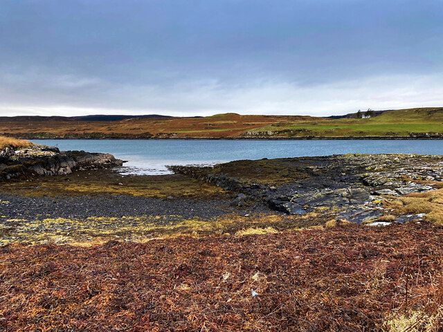 Small harbour on Loch Greshornish