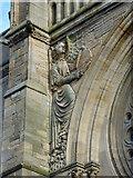 NS5667 : Kelvinside Hillhead Parish Church by Thomas Nugent
