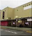 SS9079 : Nightclub recruitment banner, Derwen Road, Bridgend by Jaggery