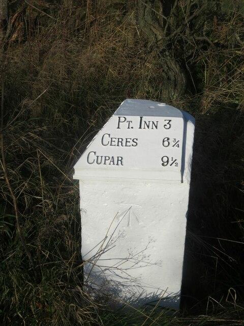 Benchmark on milestone on B940 near West Lingo