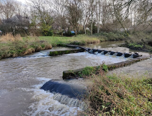 Weir on the River Cole