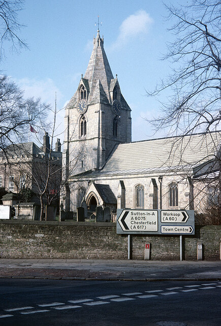 St Edmund's Church, Mansfield Woodhouse by Stephen McKay