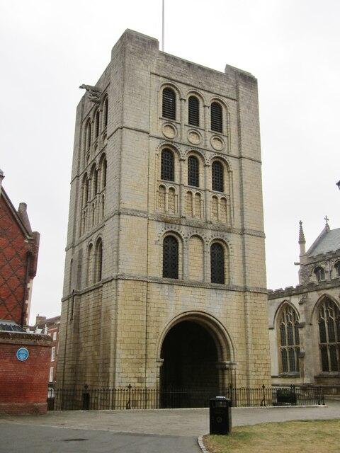 Bury St Edmunds - Norman Tower