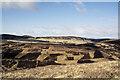 NS9014 : Declining western slope of Glen Ea's Hill by Trevor Littlewood
