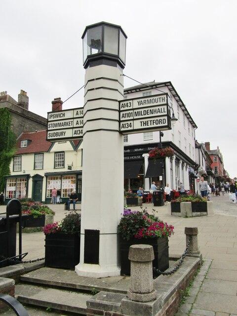 Bury St Edmunds - Pillar of Salt