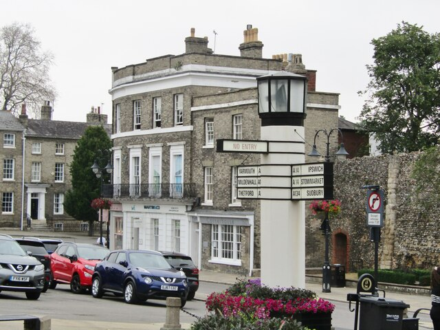 Bury St Edmunds - Angel Hill