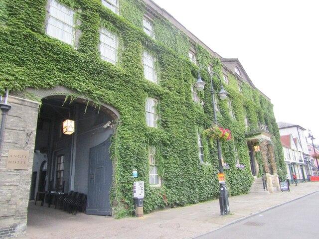 Bury St Edmunds - The Angel Hotel