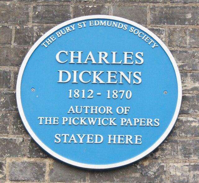 Bury St Edmunds - Charles Dickens