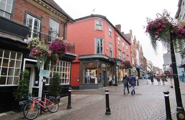 Bury St Edmunds - Abbeygate Street