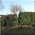 TG1923 : Marsham Pump Corner village sign by Adrian S Pye