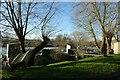 SE6049 : Houseboat moorings by DS Pugh