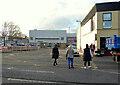 H4572 : Pedestrians, Omagh by Kenneth  Allen