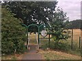 SK5645 : Entrance to Southglade Park by David Lally